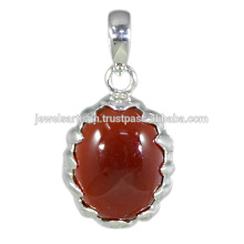 Red Onyx Gemstone 925 Sterling Silver Pendant Jewelry