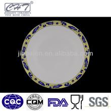 A059 hochwertige dekorative Porzellan Serving Platter
