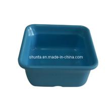 Vaisselle de mélamine de 100% - plat coloré / plat de cornichon / vaisselle de mélamine de 100% (QQ10010)