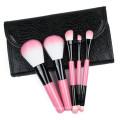 Vente en gros 5 ensembles de pinceaux cosmétiques ensemble de pinceaux de maquillage de beauté produits les plus chauds