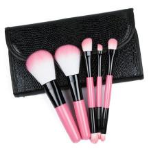 Оптовые 5 косметических наборов кистей для макияжа красоты набор кистей самые горячие продукты