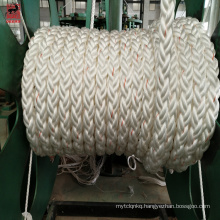 hot sale 12-strand colored polypropylene rope from China