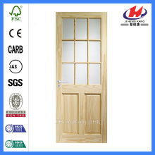 *JHK-D0102  Fiberglass Doors Price Fiberglass Wood Door Craftsman Style Fiberglass Door