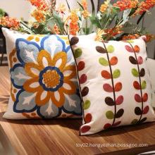 New Fashion Home Decor Embroidery Sofa Cushion Pillows