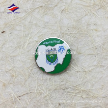 Изготовленный на заказ сувенир safty штырь круглый популярный значок