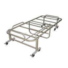 Estrutura de cama de massagem dobrável móvel de aço
