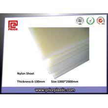 Korrosionsbeständigkeit Virgin Material Nylon PA66 Platte