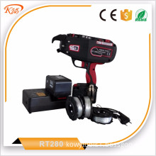 Quick delivery electricity power source automatic tier high quality battery wire coil spiral tying rebar machine