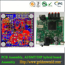 ensamblaje de pcb y ensamblaje de fabricación de pcb de oem diseño de placa de circuito impresa de Massager (pcba)