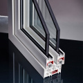 uPVC Windows Frame with 88mm Series PVC Profile