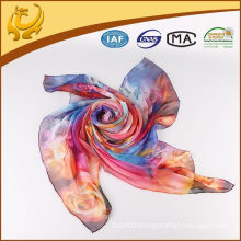 Wholesale new fashion lady chiffon silk scarf