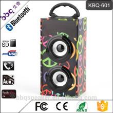 КБК-601 портативный мини цифровой бытовой многофункциональный акустическая система со встроенным-в кляре/ с USB/TF карт/FM-радио