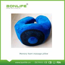 Almohada de masaje con espuma de memoria para relajarse