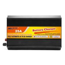 Cargador de batería inteligente de plomo de tres etapas 25A