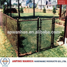 Anping Wanhua--Residential Black Chain Link Wire Mesh