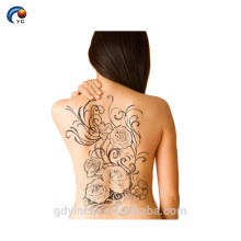 Etiqueta completa da tatuagem da parte traseira dos homens do sexo, tatuagem intim do corpo com não-tóxico