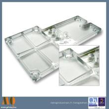 Pièce d'alliage d'aluminium de précision usinée par commande numérique par ordinateur