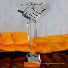 Crystal Glass Trophy Custom Authorization Card Crafts Awards Free Engraving