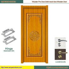 Puerta de madera Foshan Puerta de madera deslizada Puerta de madera china