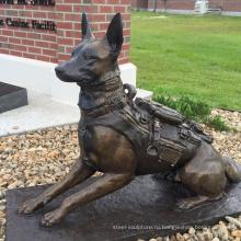 Alibaba Китай современную скульптуру животного металлическая собака статуя