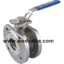 Flange Wafer Ball Valve with ISO 5211