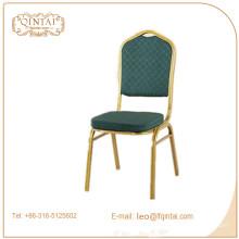 Restaurante de fábrica silla de banquete de metal barato / silla de eventos