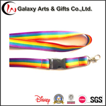 New Popular 20mm Rainbow Sublimation Quality Custom Lanyards