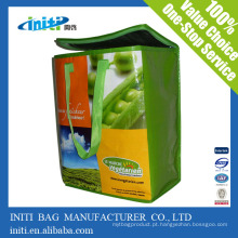 Personalizado saco de gelo isolados baratos do refrigerador do almoço / saco de gelo do saco do refrigerador