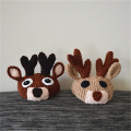 Reindeer Dog Hat Winter Knitted Pet Cat Hat