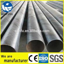 Заводская цена Спираль SSAW жидкая труба, используемая в нефтегазовой области