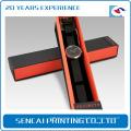 Kundenspezifisches handgemachtes Luxus-Papppapier Uhrengehäuse mit Deckel