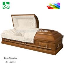 Chocolat peinture chamois cercueil intérieur de style US