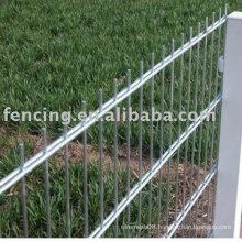 Double Horizontal Wires Fence