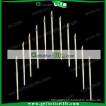 Aiguilles de Piercing en gros avec 12G 100pcs/pack