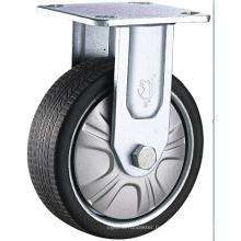 Roulette à roulement à double roulement à double roulement à usages multiples, roulette en nickel PP avec roulette en acier