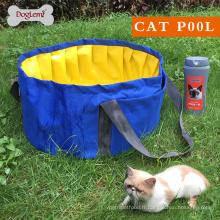 Baignoires pour chiens pliable baignoire piscine en fibre de verre chien bain baignoire pour petits chiens et chat