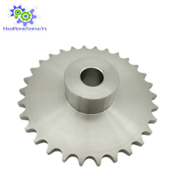 Edelstahl-Rollenkettenradgetriebe