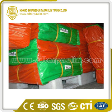 Waterproof PE Tarpaulin Coated Plastic Sheet