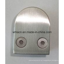Braçadeira de escada de vidro de aço inoxidável para hardware de construção (tipo D)