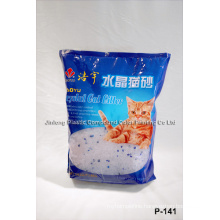 Stand up Cat Litter Bag with Clear Window
