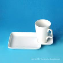 Ensemble de coupe de café en porcelaine, style # 362