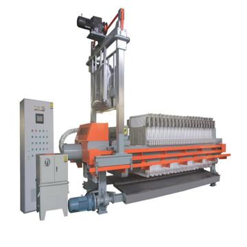 Zhejiang 800 série membrane automatique PP filtre presse