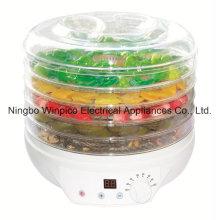 Desidratador elétrico do alimento de 11L Digitas, máquina de secagem da fruta, secador vegetal