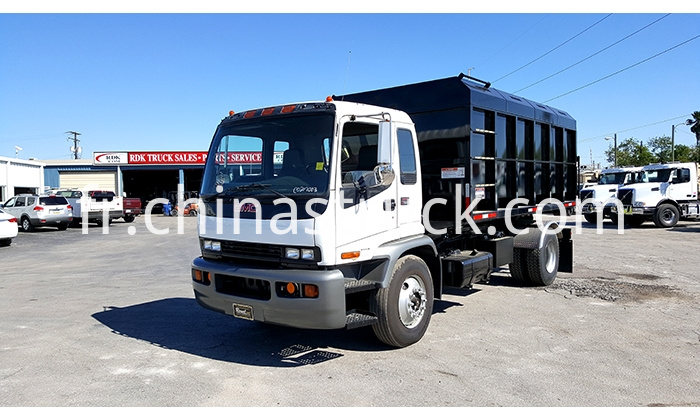 Isuzu Hook Lift Roll Off Truck
