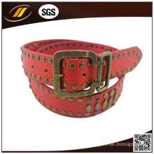 Women Coat Hardware Pin Buckle Leather Belt (HJ15026)