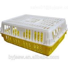 Caixa de frango de transporte de aves de capoeira de plástico
