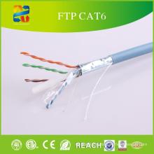 Высокое качество пройти тест низкая цена Двуустки кабеля FTP кабель cat6