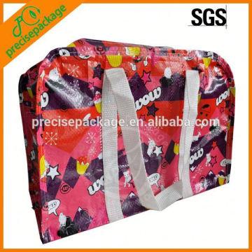 Laminierte gewebte Tasche aus laminiertem Stoff mit PP-Griff