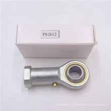 Type à rotule et palier à rotule en acier PHS12 de haute qualité