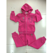 Hoodies da camisola do terno de trilha da forma do lazer na roupa das crianças para o desgaste Swg-127 do esporte